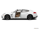 2014 Porsche Panamera Driver's side profile with drivers side door open