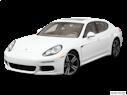 2014 Porsche Panamera Front angle view