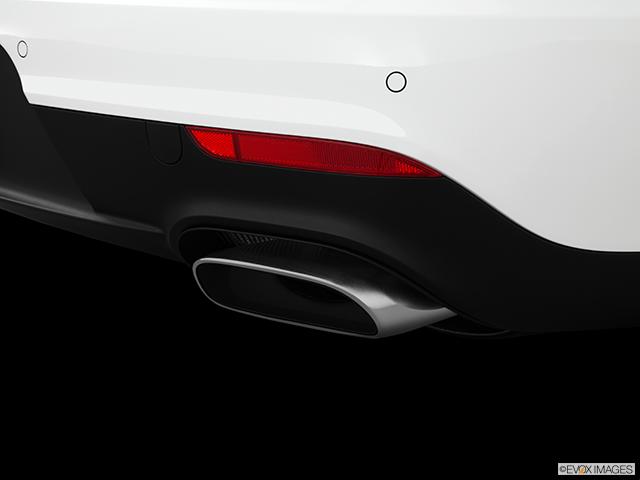 2014 Porsche Panamera Chrome tip exhaust pipe