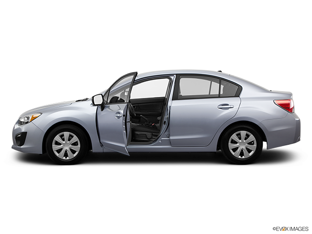 2014 Subaru Impreza Driver's side profile with drivers side door open