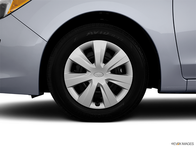2014 Subaru Impreza Front Drivers side wheel at profile