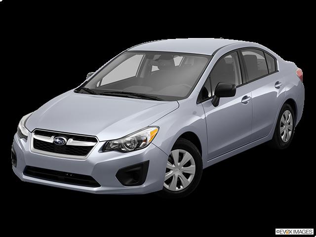 2014 Subaru Impreza Front angle view
