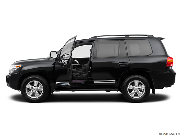 2014 Toyota Land Cruiser Driver's side profile with drivers side door open