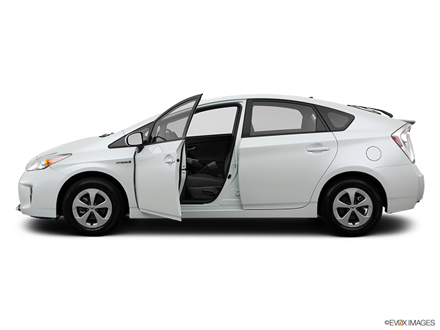 2014 Toyota Prius Driver's side profile with drivers side door open