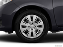 2014 Toyota Yaris Front Drivers side wheel at profile