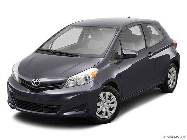 2014 Toyota Yaris Front angle view