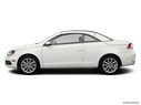 2014 Volkswagen Eos Drivers side profile, convertible top up (convertibles only)