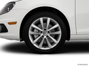 2014 Volkswagen Eos Front Drivers side wheel at profile