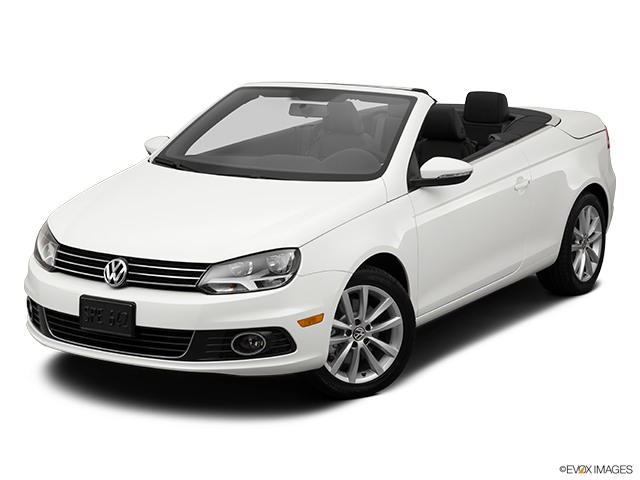 2014 Volkswagen Eos Front angle view