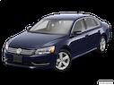 2014 Volkswagen Passat Front angle view