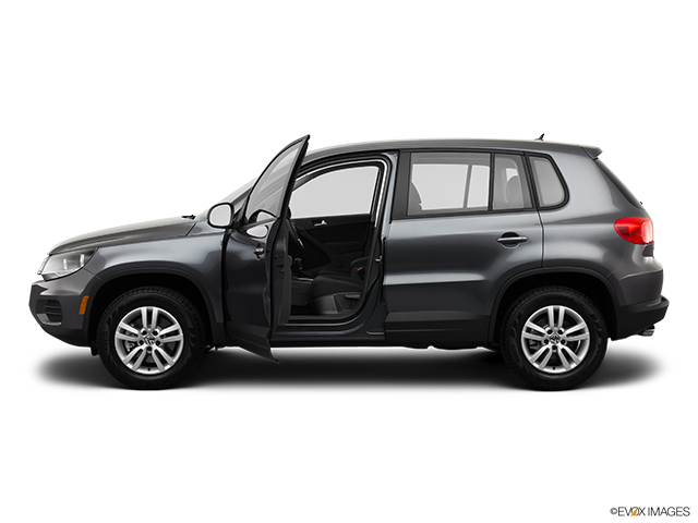 2014 Volkswagen Tiguan Driver's side profile with drivers side door open