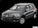 2014 Volkswagen Tiguan Front angle view