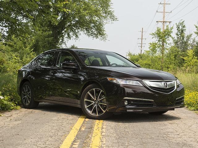 2015 Acura TLX Exterior