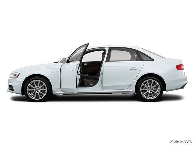 2015 Audi A4 Driver's side profile with drivers side door open