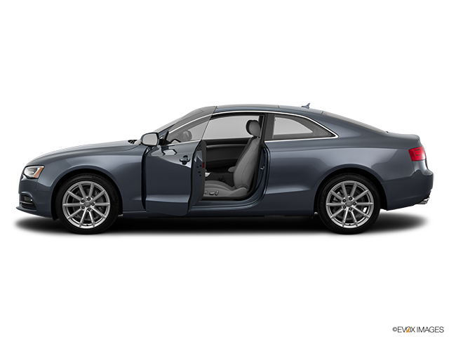 2015 Audi A5 Driver's side profile with drivers side door open