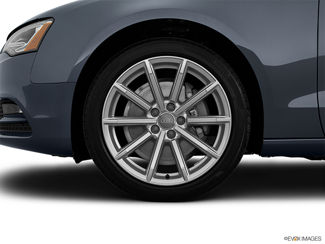 2015 Audi A5 Front Drivers side wheel at profile