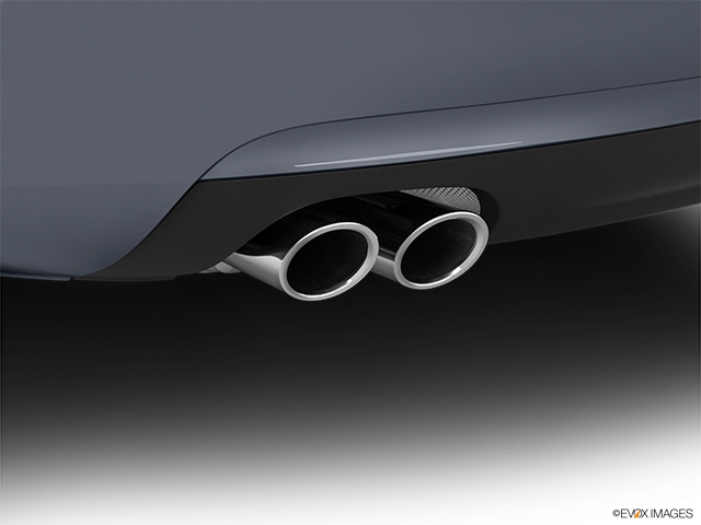 2015 Audi A5 Chrome tip exhaust pipe
