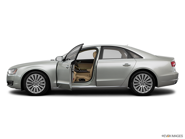2015 Audi A8 Driver's side profile with drivers side door open