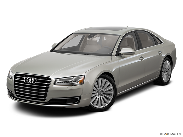2015 Audi A8 Front angle view
