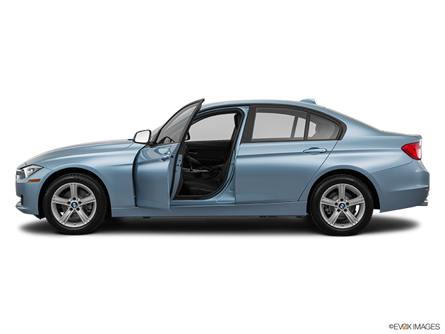 2015 BMW 3 Series Driver's side profile with drivers side door open