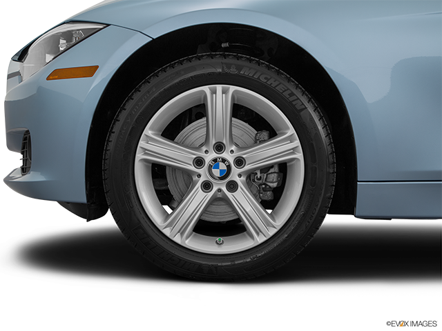2015 BMW 3 Series Front Drivers side wheel at profile