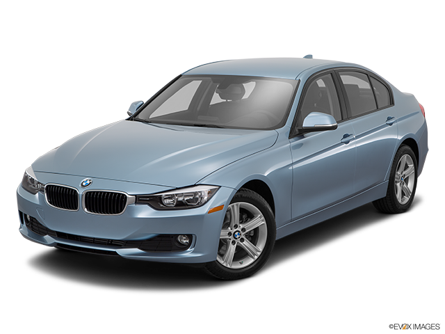2015 BMW 3 Series Front angle view