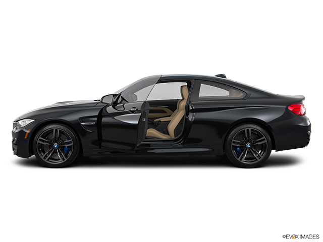 2015 BMW M4 Driver's side profile with drivers side door open
