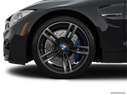 2015 BMW M4 Front Drivers side wheel at profile