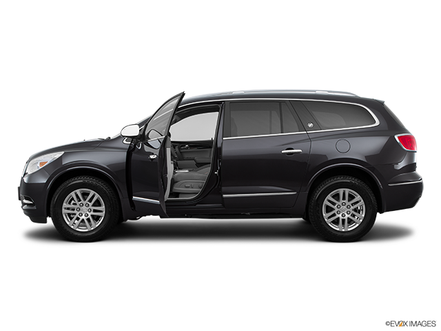 2015 Buick Enclave Driver's side profile with drivers side door open
