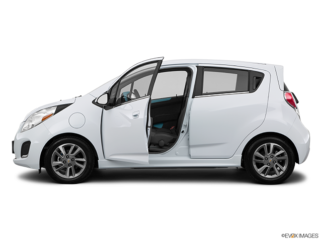 2015 Chevrolet Spark EV Driver's side profile with drivers side door open