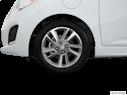 2015 Chevrolet Spark EV Front Drivers side wheel at profile