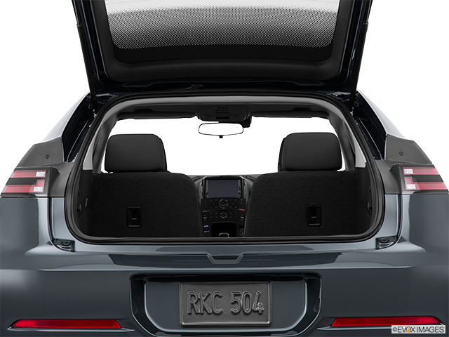 2015 Chevrolet Volt Trunk open