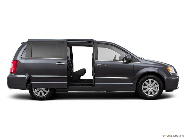 2015 Chrysler Town and Country Passenger's side view, sliding door open (vans only)