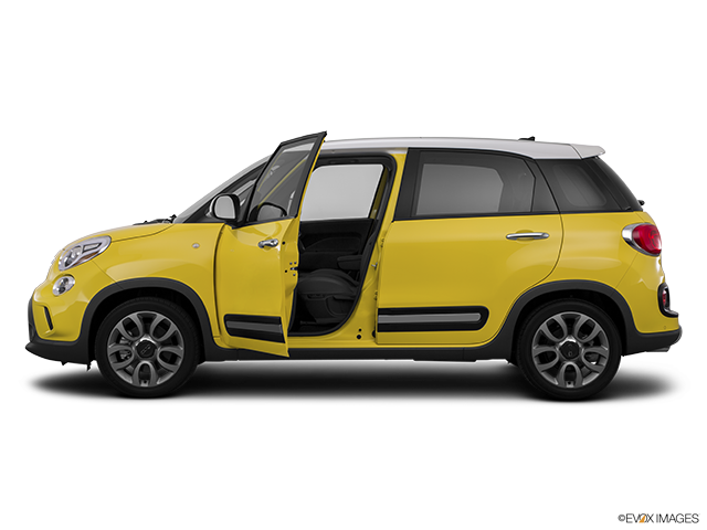 2015 FIAT 500L Driver's side profile with drivers side door open