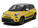 2015 FIAT 500L Front angle view