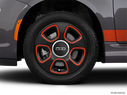 2015 FIAT 500e Front Drivers side wheel at profile