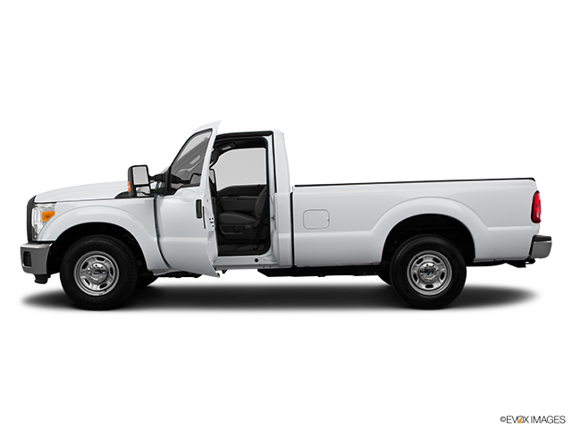 2015 Ford F-250 Super Duty Driver's side profile with drivers side door open