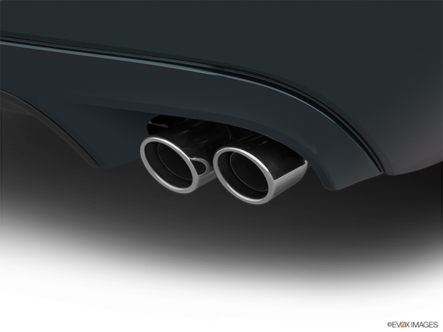 2015 Jaguar XF Chrome tip exhaust pipe