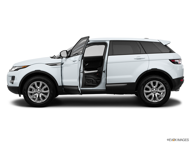 2015 Land Rover Range Rover Evoque Driver's side profile with drivers side door open