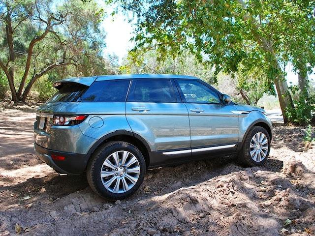 2015 Land Rover Range Rover Evoque Exterior