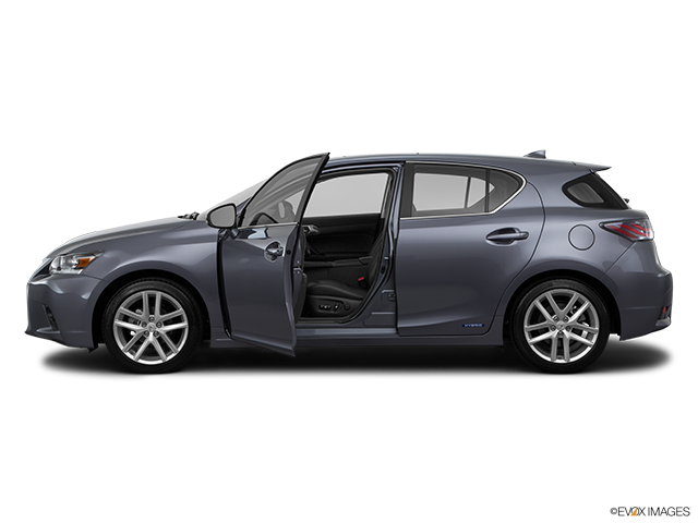 2015 Lexus CT 200h Driver's side profile with drivers side door open