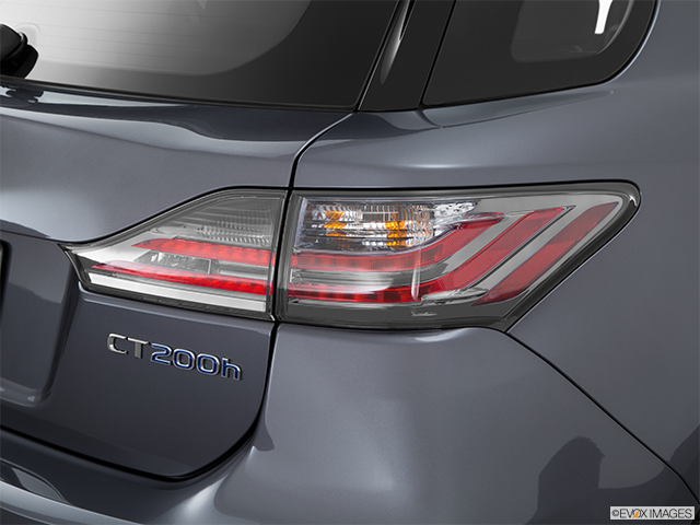 2015 Lexus CT 200h Passenger Side Taillight