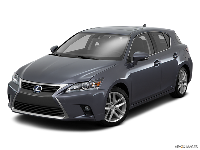 2015 Lexus CT 200h Front angle view