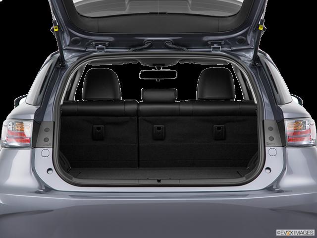 2015 Lexus CT 200h Trunk open