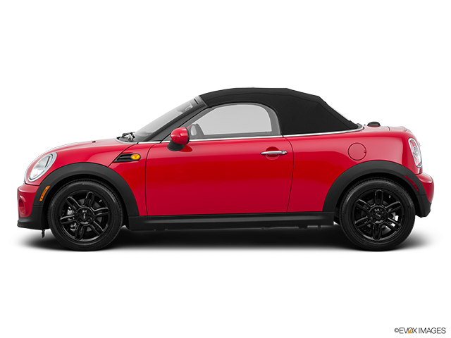 2015 MINI Roadster Drivers side profile, convertible top up (convertibles only)