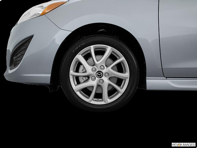 2015 Mazda Mazda5 Front Drivers side wheel at profile