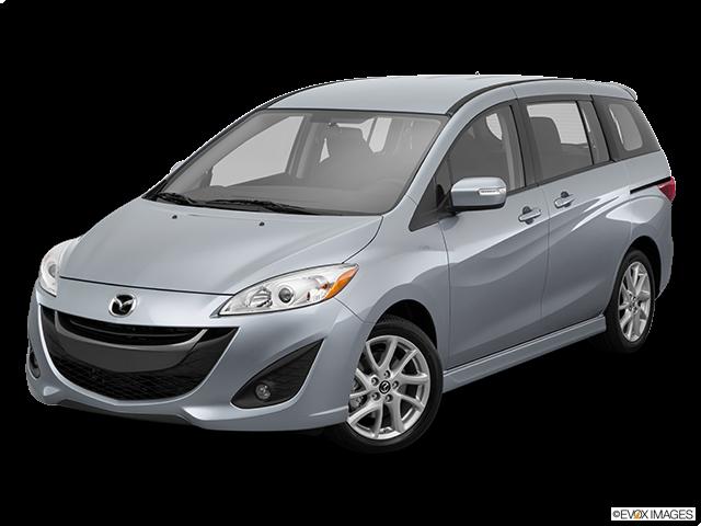 2015 Mazda Mazda5 Front angle view
