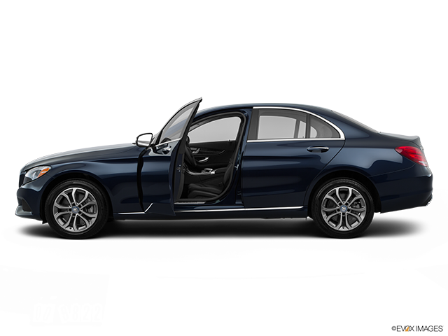 2015 Mercedes-Benz C-Class Driver's side profile with drivers side door open