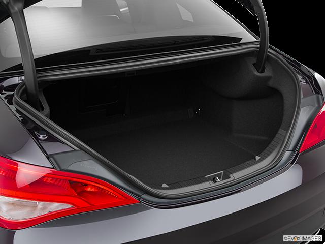 2015 Mercedes-Benz CLA Trunk open