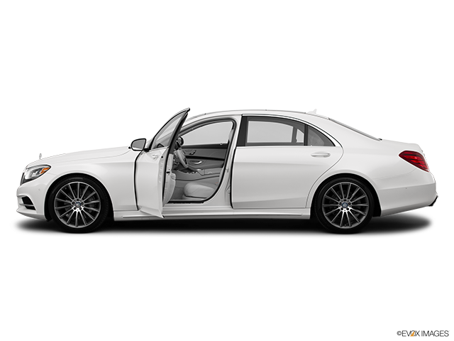 2015 Mercedes-Benz S-Class Driver's side profile with drivers side door open